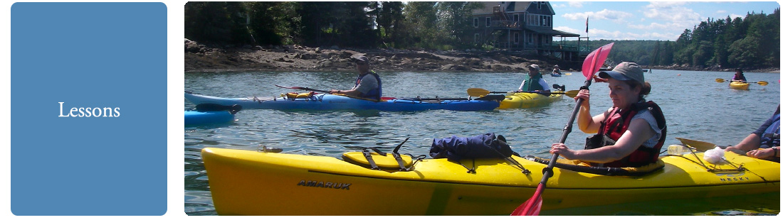 Midcoast Kayak Lessons